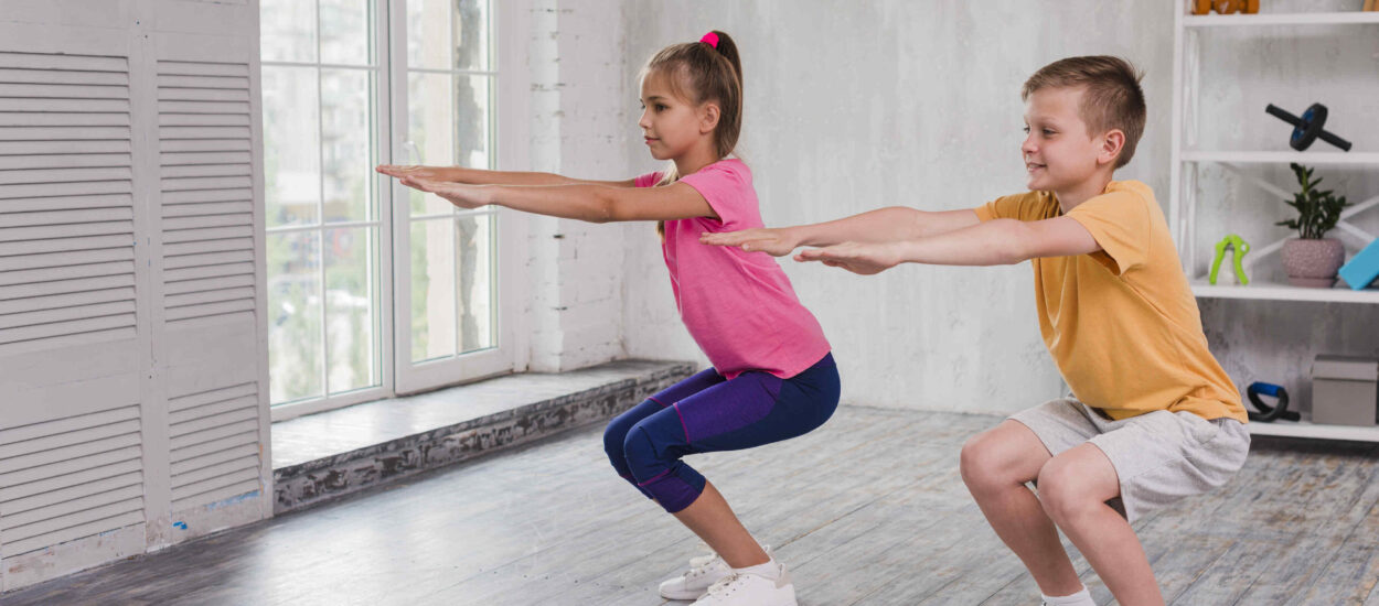 The best exercise for children of different ages (part1)