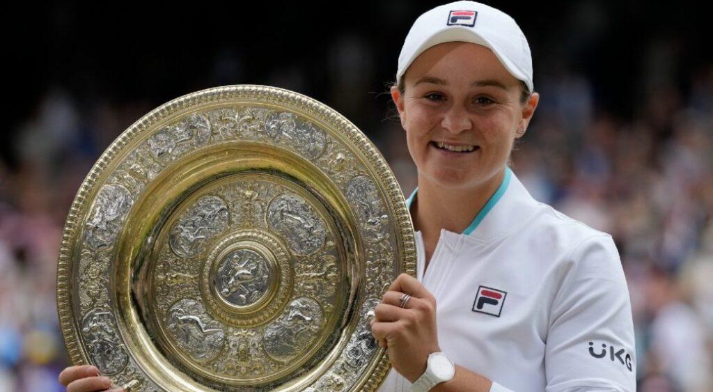 First woman in 40 years winning Wimbledon title: Ash Barty