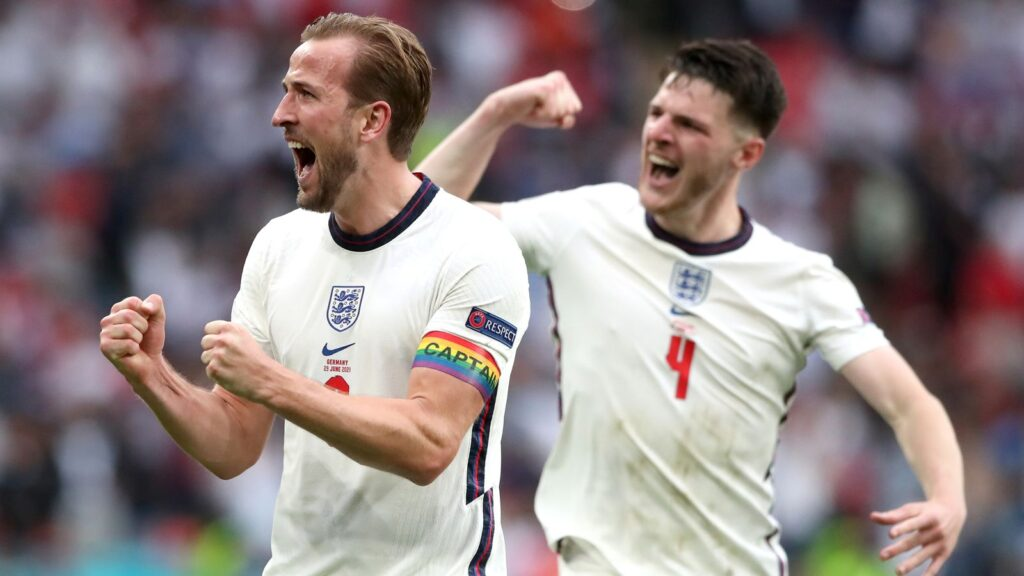 England advanced to the quarter-finals with Germany eliminated