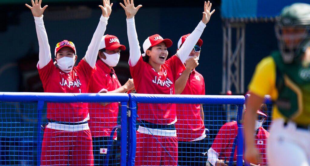 The opener: Japan defeats Australia in softball