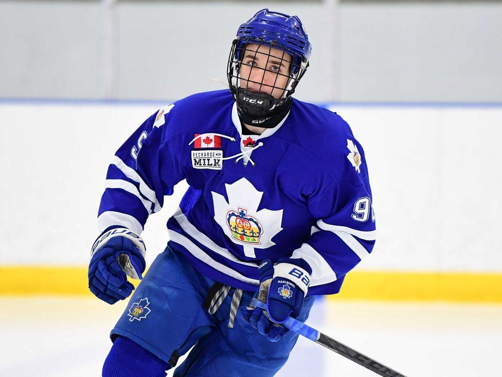 Canadiens picks Logan Mailloux
