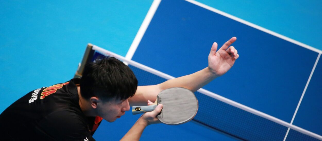 What are the advantages of table tennis for your arm?
