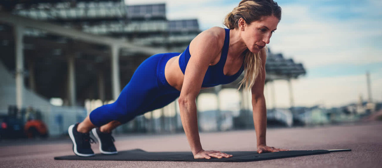 Why is Sprinter Pushups a good exercise for runners?